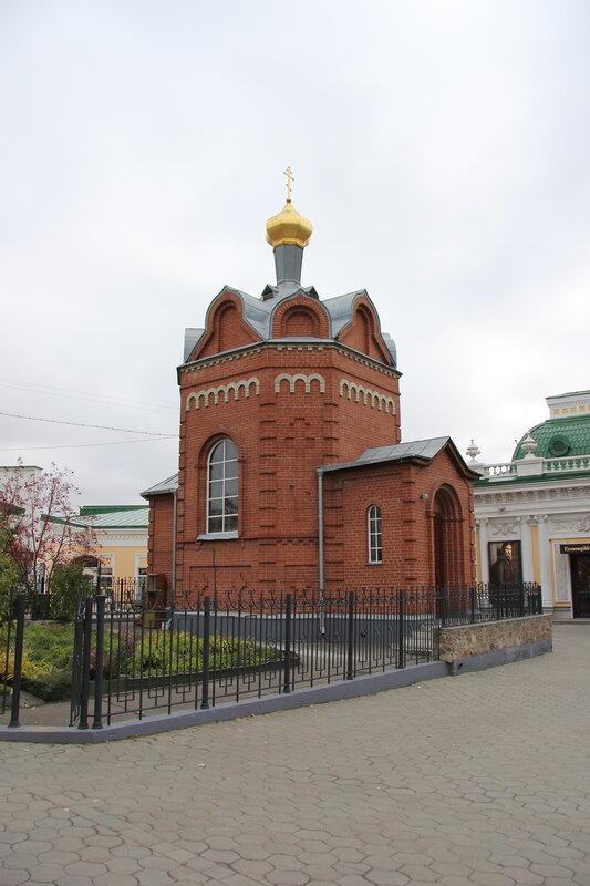Омск. Часовня Иверской иконы Божией Матери