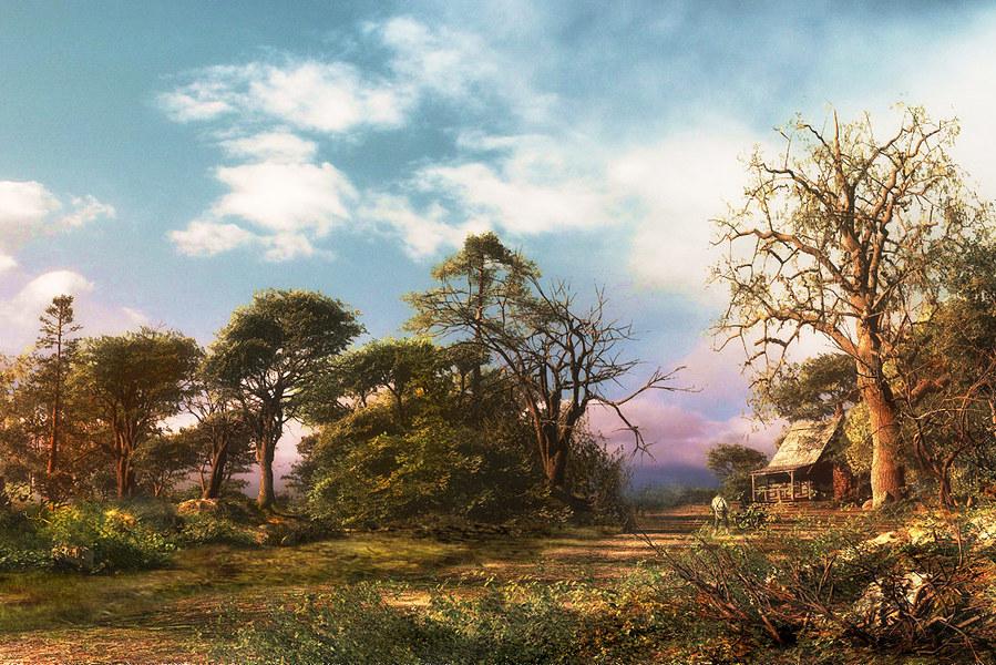 Замечательные картины Доминика Дэвисона (Dominic Davison)