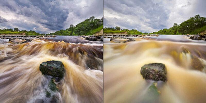 для как сфотографировать движение воды первую очередь