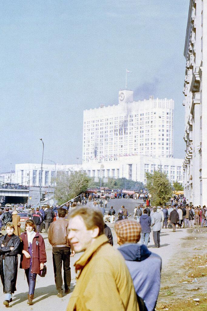Расстрел Белого дома, 1993 год