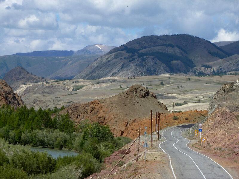 Зигзаг горной дороги