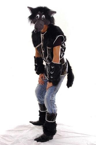 Мужской карнавальный костюм Волк