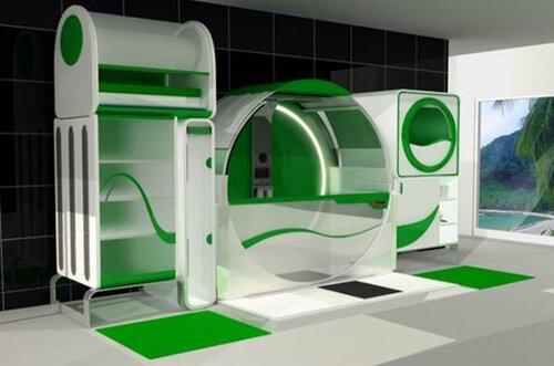 Bathroom design for disabled