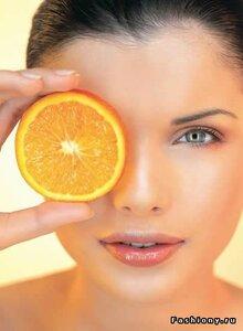 маска для лица с апельсином