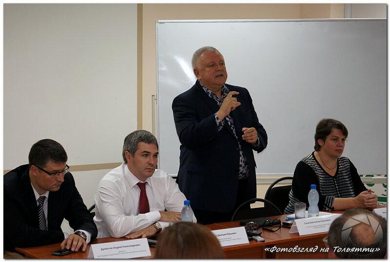 Константин Титов на лекции в бизнес-инкубаторе Тольятти