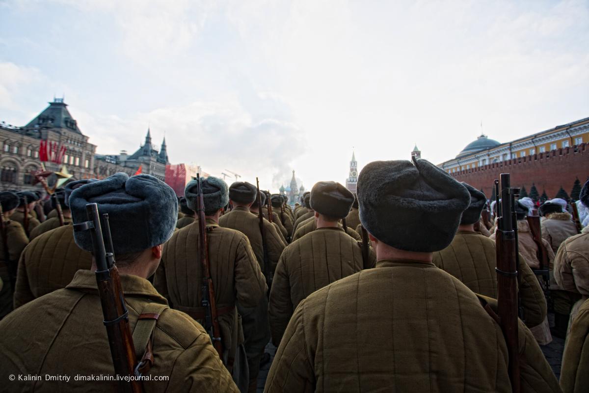 7ноября, Москва, Красная площадь.