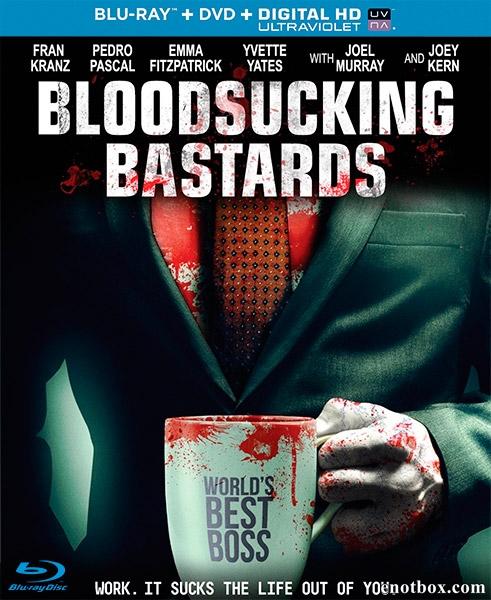 Кровососущие ублюдки / Кровососущие подонки / Bloodsucking Bastards (2015/BDRip/HDRip)
