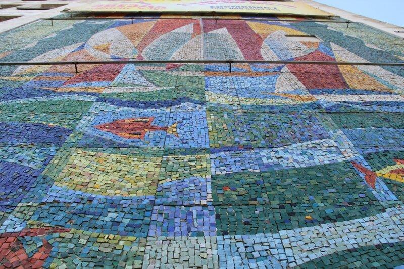 Мозаичное панно на Блюхера, 3