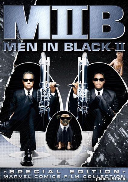 Люди в черном2 / Men in Black II (2002/HDRip)