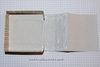 Упаковка своими руками для цветка из ткани