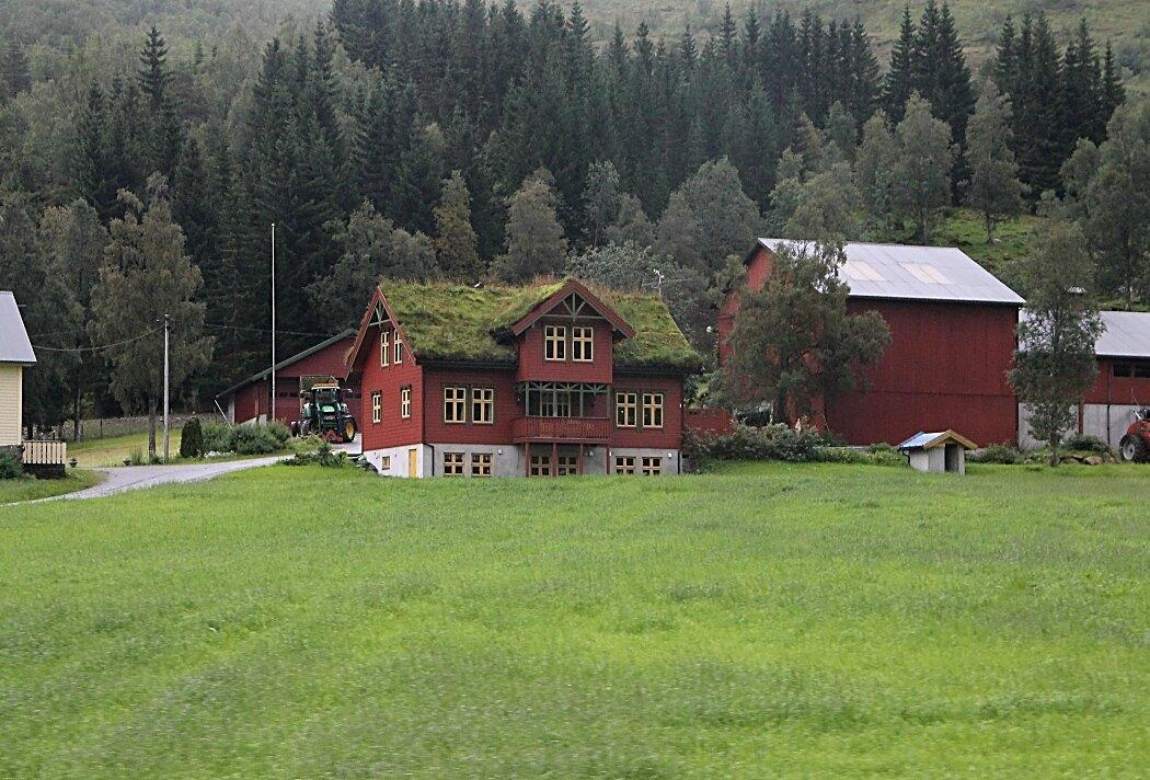 Долина Лангедален. Ферма