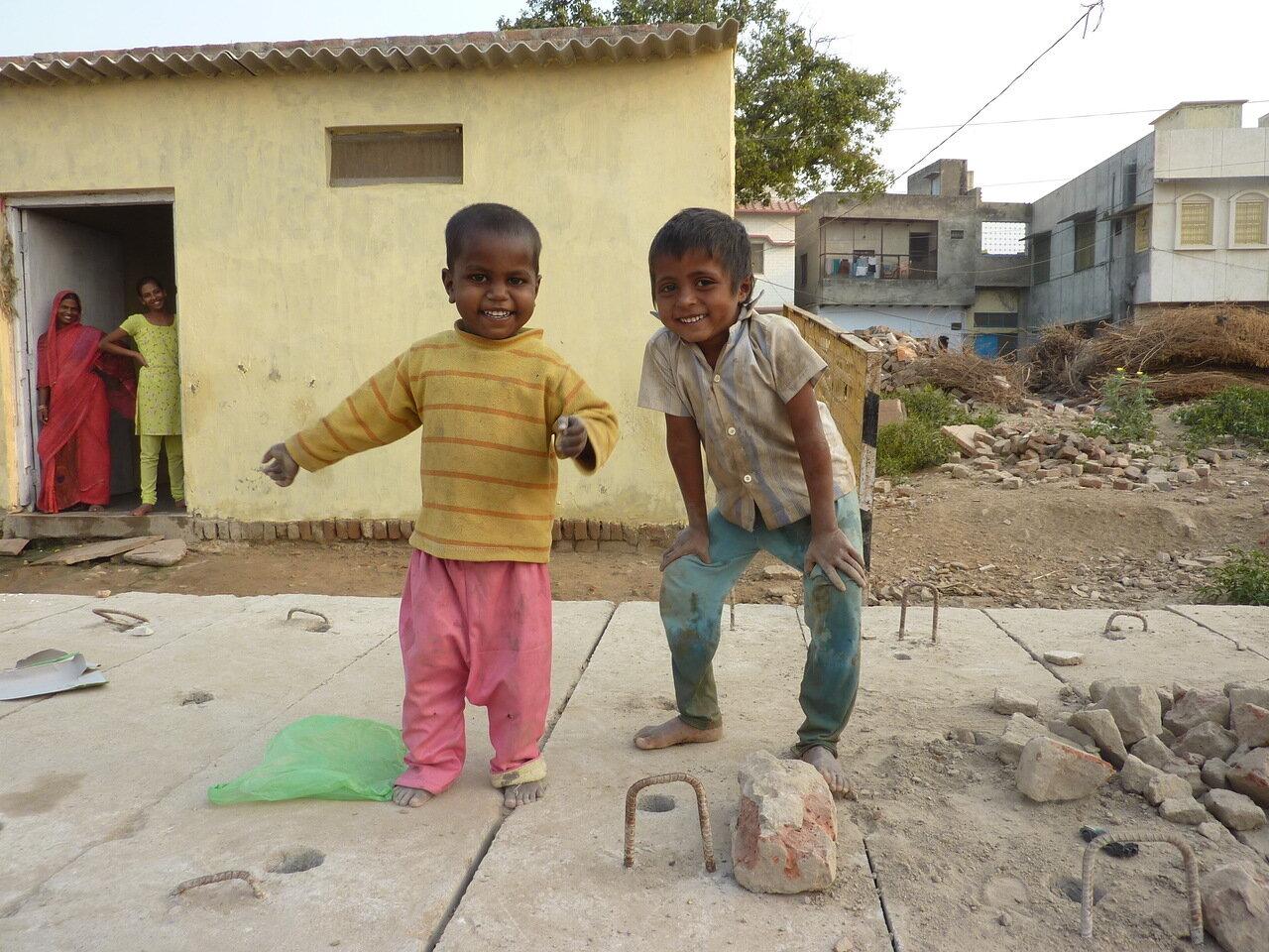 Дети Вриндавана - люди Вриндавана называются бриджабаси