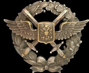 Знак военного летчика.