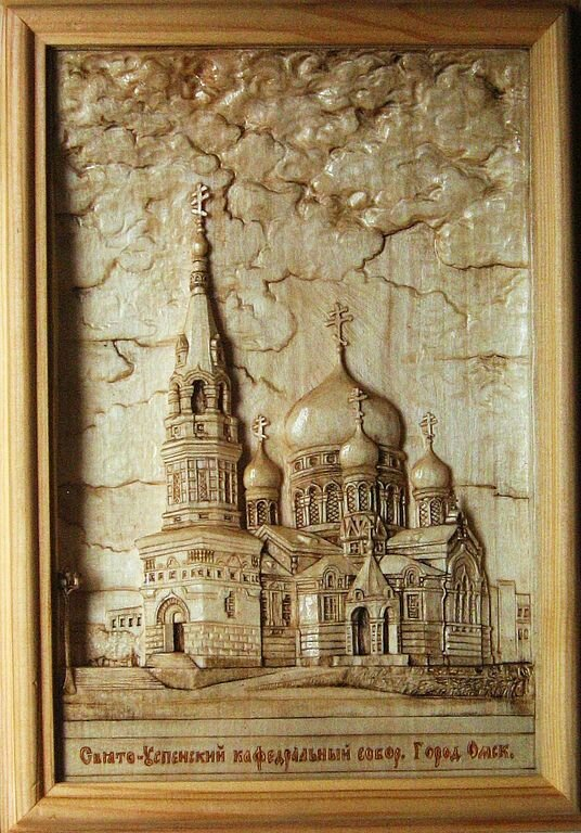 Резьба по дереву Байкова Михаила