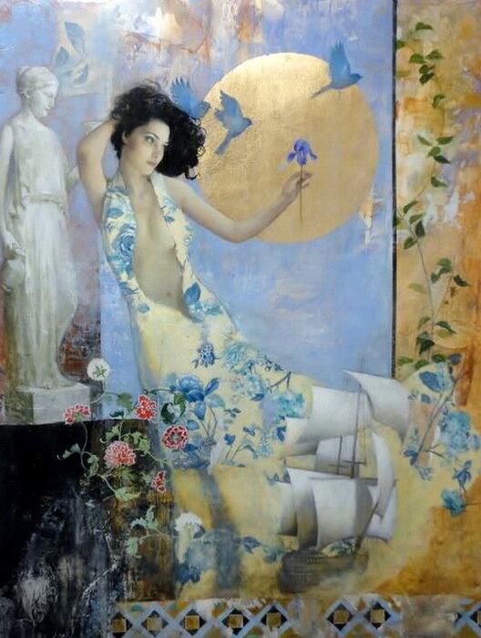 Francois Fressinier.Есть женщина-цветок. Свой выбери и ты поймешь!