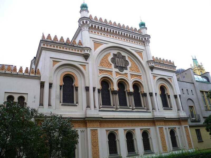 Синагога в Праге, Чехия (Synagogue in Prague, Czech Republic)