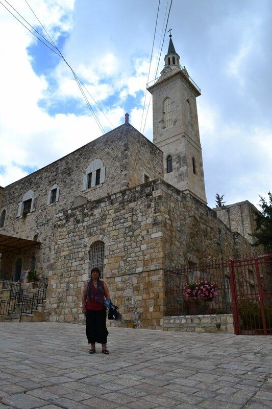 День седьмой. Церковь Иоанна Крестителя. Эйн Карем. Иерусалим. Израиль. 2013.