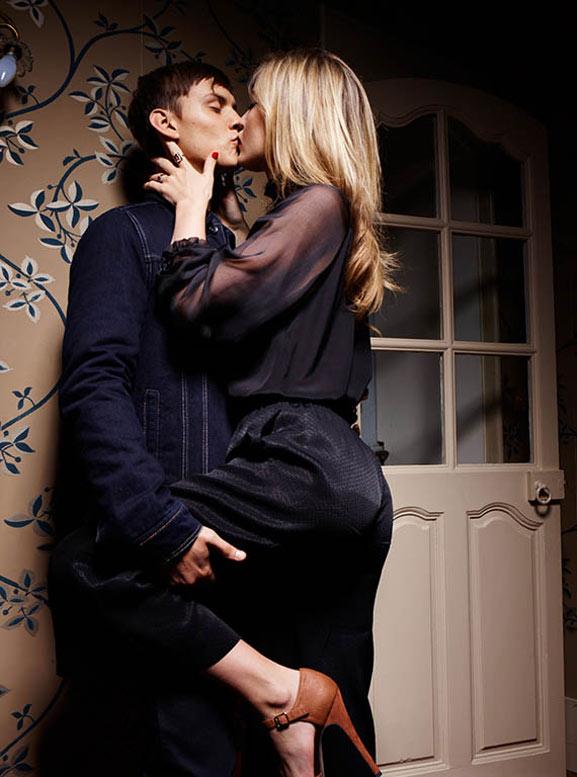 Georgia May Jagger / Джорджия Мэй Джаггер в рекламной кампании одежды Sisley, осень 2013 / фотограф Olivier Zahm
