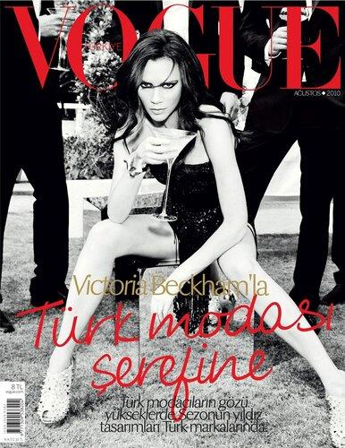 Victoria Beckham / Виктория Бекхэм, фотограф Ellen von Unwerth / Vogue Turkey august 2010