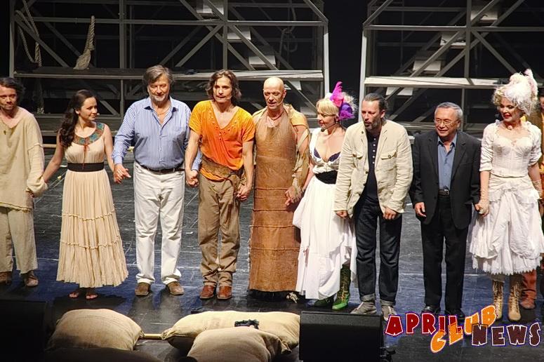 Премьера рок-оперы «Хоакин Мурьета»