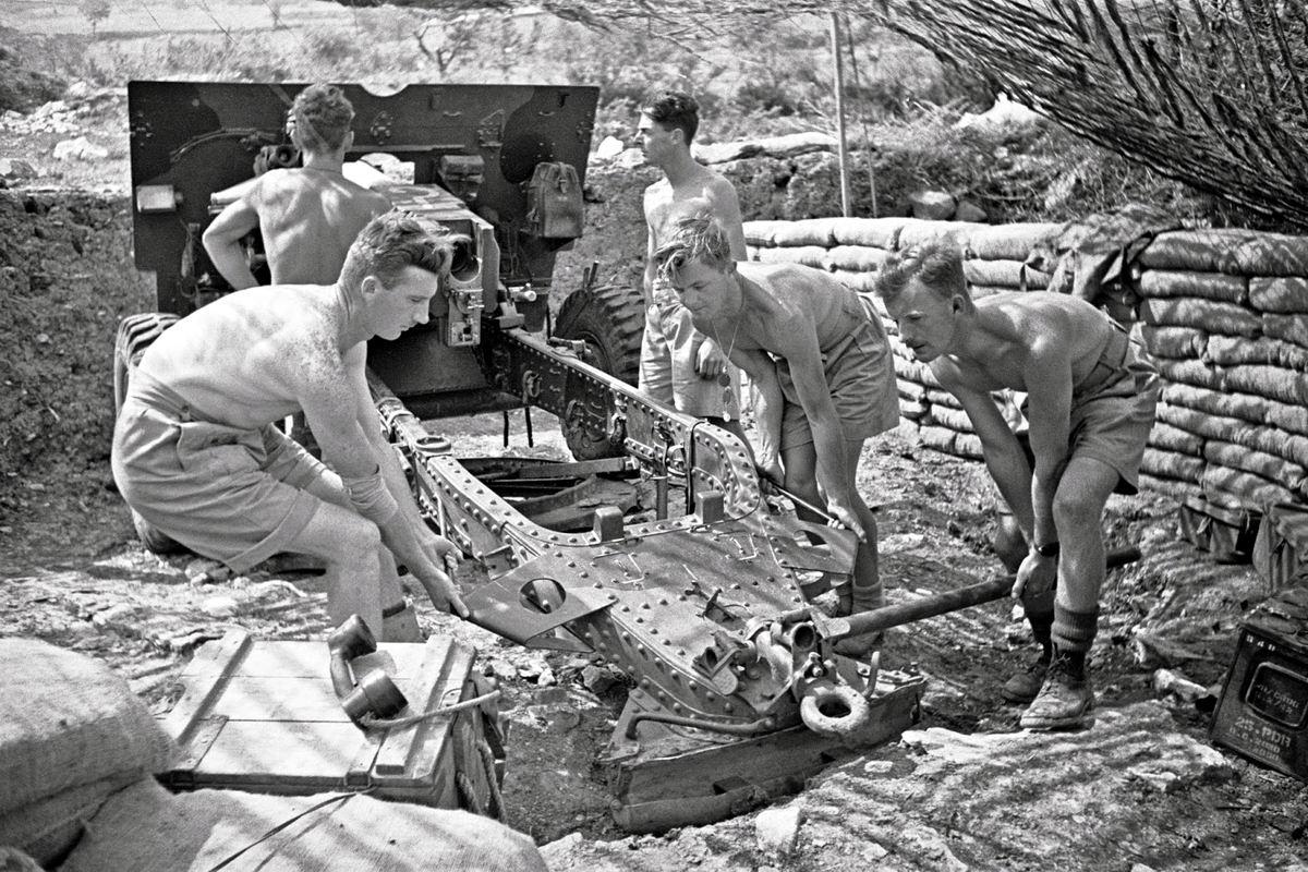Раз-два, взяли: Новозеландские артиллеристы в Италии (май 1944 года)