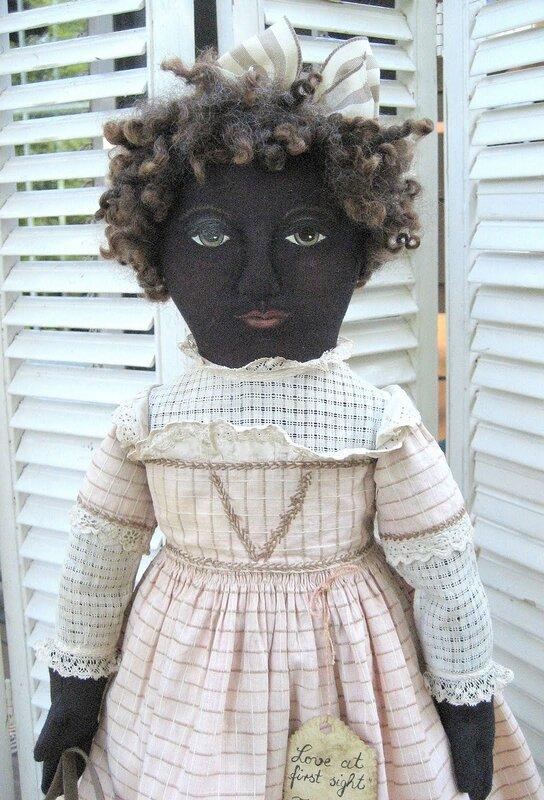 кукла темнокожая
