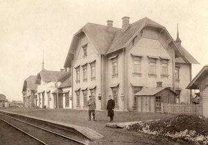 Вокзальное здание станции Исакогорка