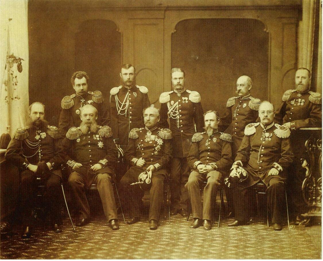 Групповой портрет военных чинов