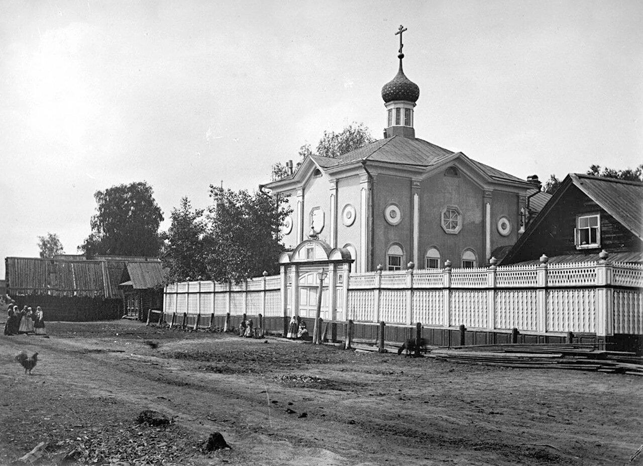 Общий вид старообрядческой часовни. 1894 г. г. Балахна, Нижегородская губерния.
