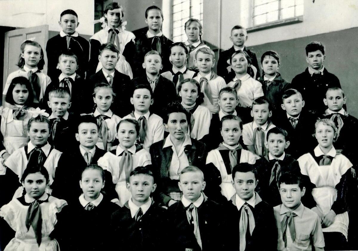 1963. В новосибирской школе