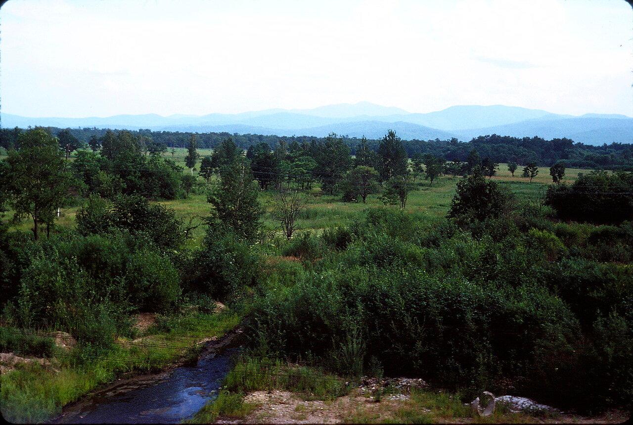Пейзаж Восточной Сибири