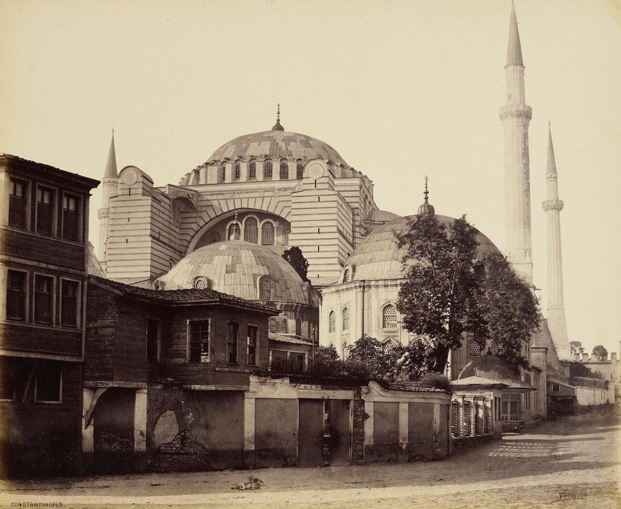 22 мая 1862. Мечеть Святой Софии. Константинополь