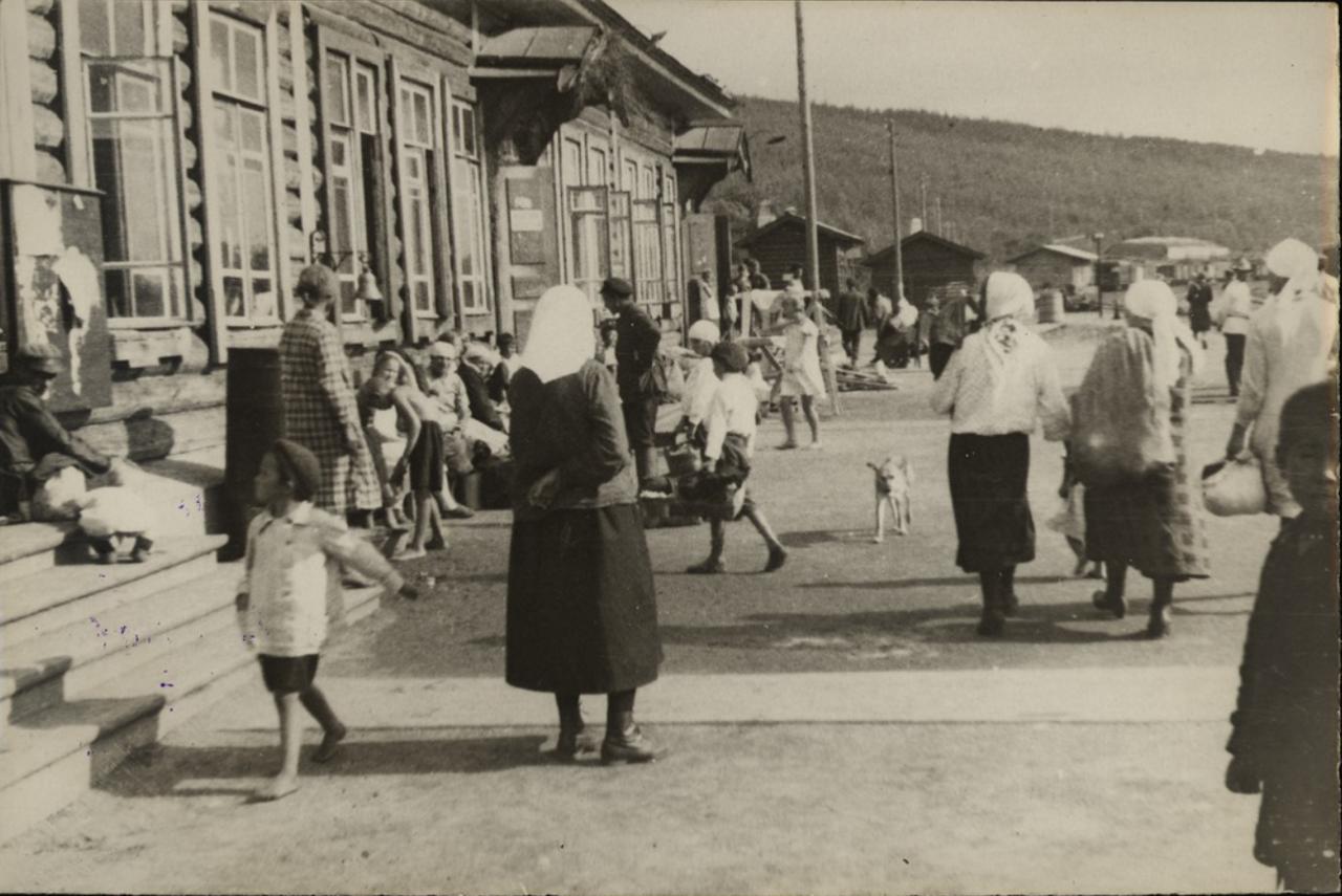 Станция Облучье. Жители