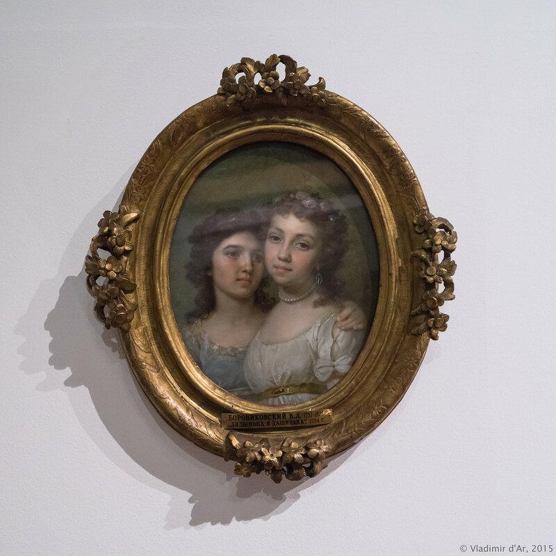 Лизанька и Дашенька. Боровиковский В.Л. 1794 г.