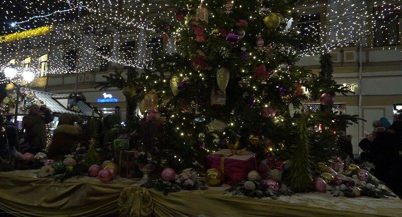 Новый год 2016, Москва, базар