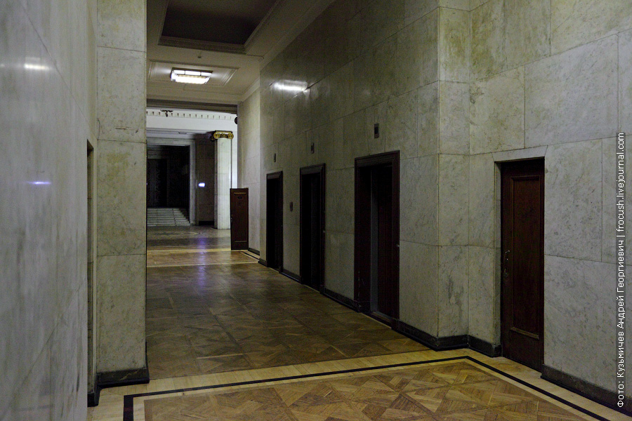 МГУ сектор А лифты
