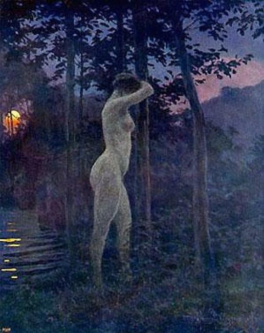 Соболь и панна, 1913, Вейсенгоф, Генрих (1859-1922)
