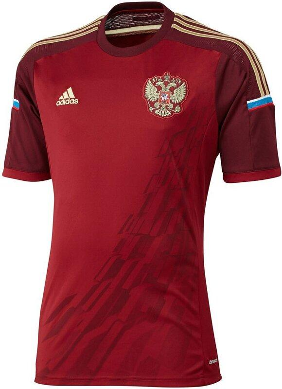 «Adidas» представил форму сборной России по футболу на ЧМ-2014 (Фото)