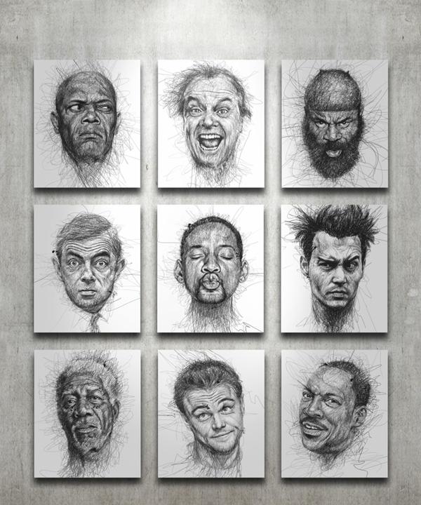 Арт-проект Faces