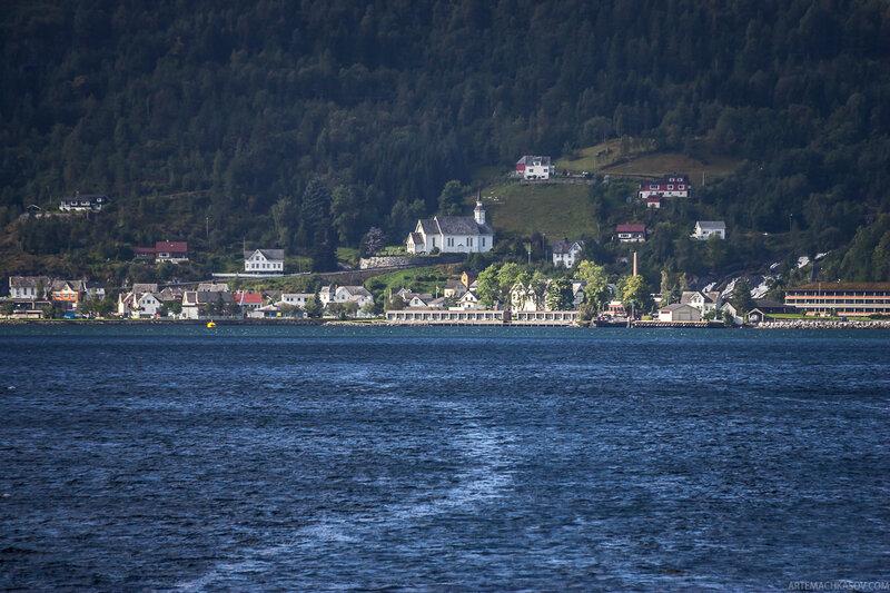 Гейрангер - фьорд