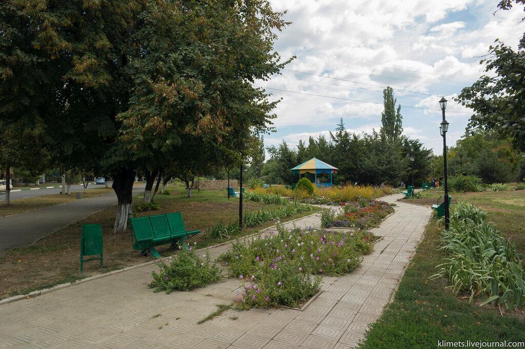 Осенние парки Ильичевска