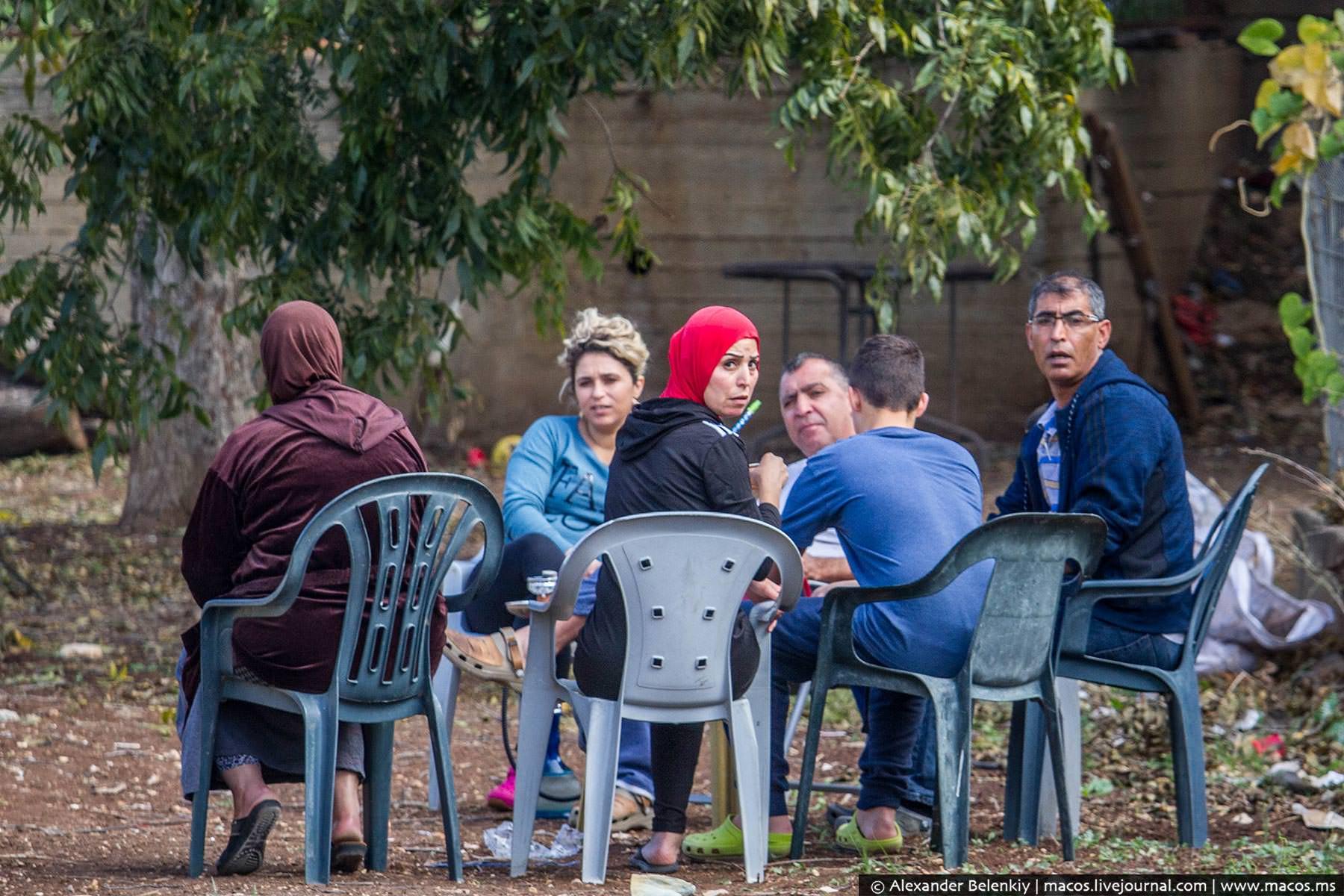 Сирийский дворик