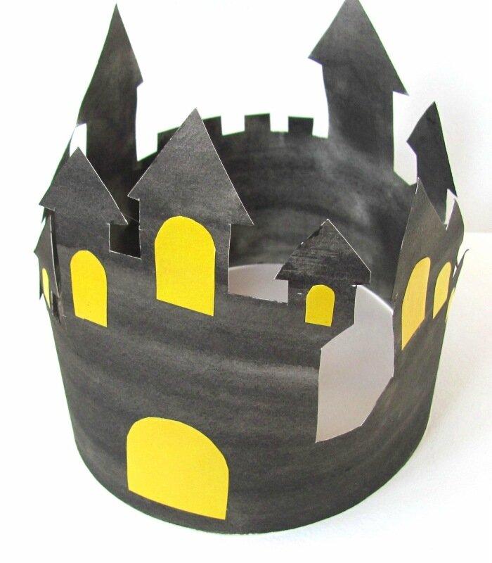 Корона на Хэллоуин своими руками