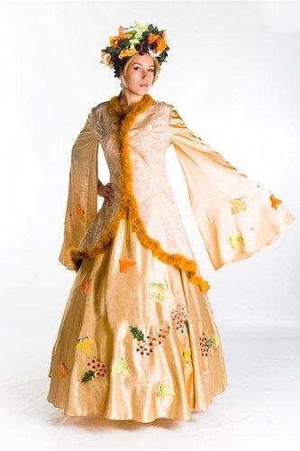 Женский карнавальный костюм Костюм Осени