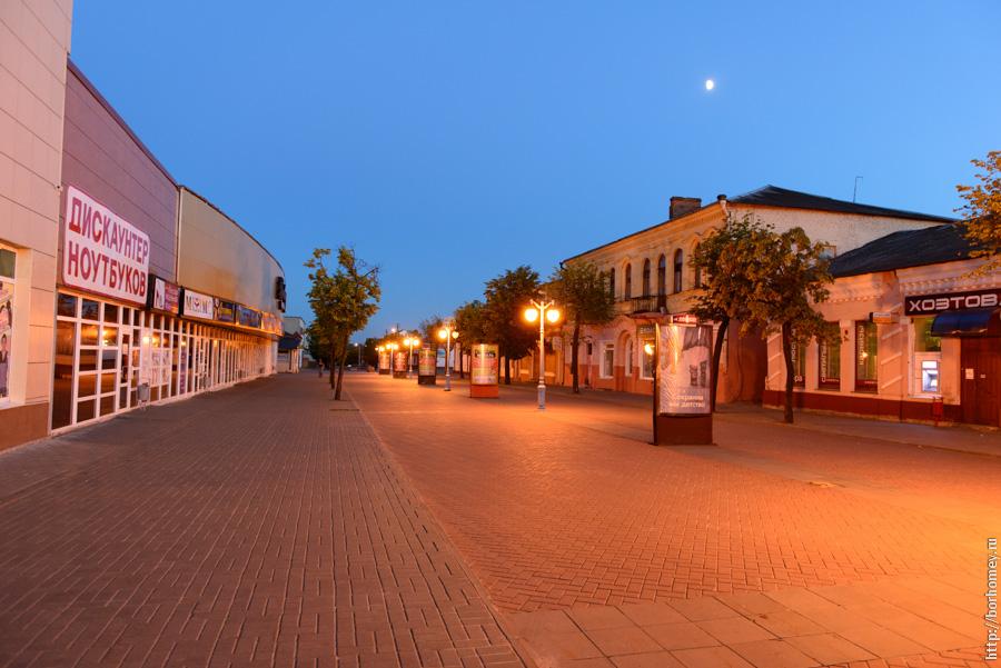 пешеходная улица бобруйска