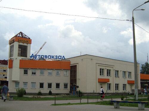 Отдых в Беларуссии: витебский автовокзал