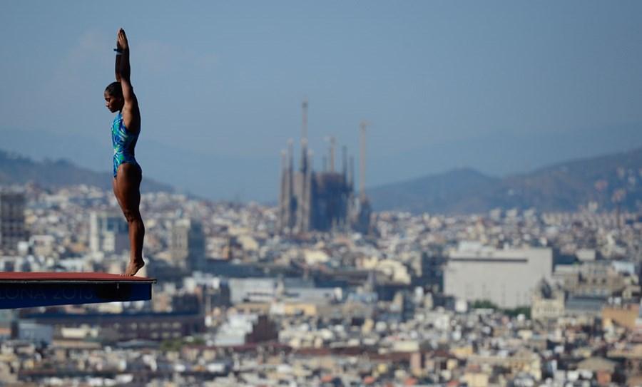 Эффектные фотографии с чемпионата мира по плаванию в Испании 0 e55d4 f9a21262 orig