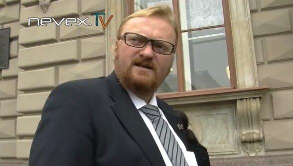 Милонов посылает почитателей макаронного монстра