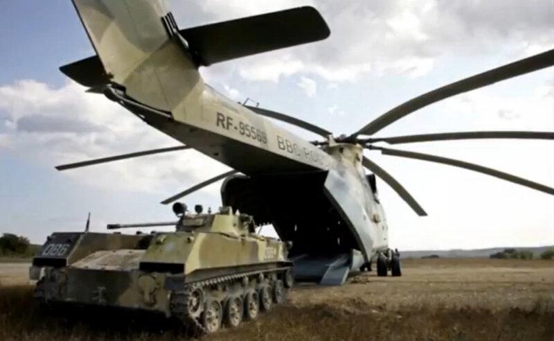 На сегодняшний день это самый крупный вертолет такого класса в мире.