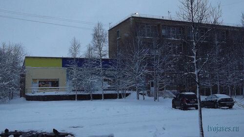 Фотография Инты №6310  Юго-западный угол Мира 22а (здание бывшего